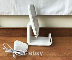 Pristine Square Chip Reader + Dock Swivel Stand Modèle S089 Pour Ipad, Jamais Utilisé