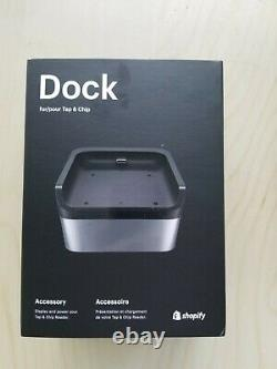 Shopify Tap And Chip Reader, Dock, Mini Dock Cable & Power Adapter Nouveaux En Boxes