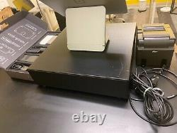 Square Register Point De Vente Pos Used Great Condition With Printer/cash Drawer