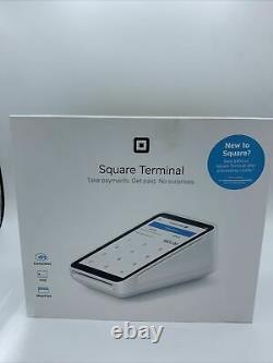 Square Terminal New In Unopened Box Avec Des Frais De Traitement De 1000 $ Gratuits