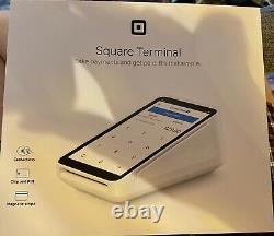 Terminal De Crédit Carré Et De Carte De Débit Avec Boîte De 20 Rouleaux Supplémentaires! Doit Voir