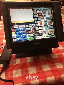 Terminal Intelligent À Écran Tactile Casio Qt 6100
