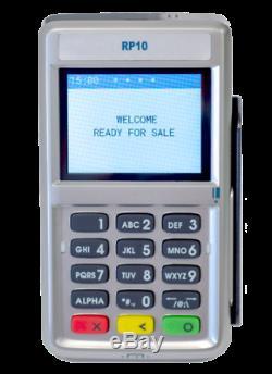 Tout Neuf First Data Fd150 Avec Rp 10 Pin Pad Libéré Février 2020