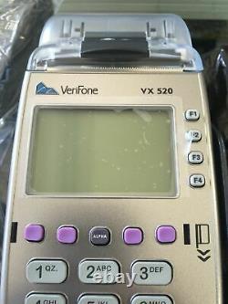 Tout Nouveau Verifone Vx520/emv-enabled. Garantie De 12 Mois
