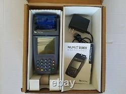 Verifone Nurit 8000 Credit Card Machine Avec Accessoires Livraison Gratuite Utilisé #18