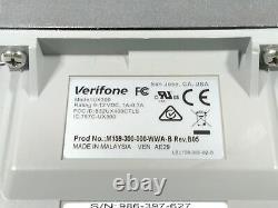 Verifone Ux300 M159-300-000-wwa-b Card Reader Non Testé As-is