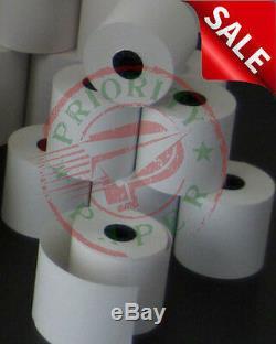 Verifone Vx520 (2-1 / 4 X 50' ) Papier Thermique 300 Reçu Rolls Livraison Gratuite