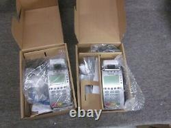 Verifone Vx520 Credit Card Chip Emv Reader Machine Avec Cordons Adaptateur D'alimentation 2pk
