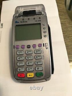 Verifone Vx520 Credit Card Machine Avec Chip Reader Emv, Ethernet Ou Dial