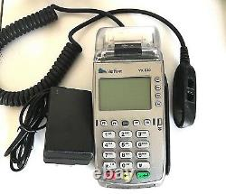 Verifone Vx520 Terminal De Carte De Crédit Pos Puce Emv Non Bloquée
