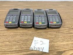 Verifone Vx520 Usagée Lecteur De Carte De Crédit Pos Lot De 4 Non Testé