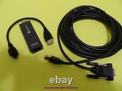 Verifone Vx670 Programmation Pc Câble 26264-05 Rs232 Dongle 24122-01-r