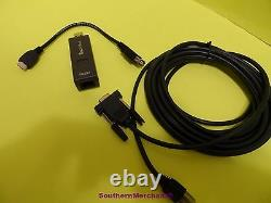 Verifone Vx670 Vx680 Programmation Pc Câble 26264-05 Rs232 Dongle 24122-01-r