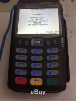 Verifone Vx675 Sans Fil 3g À Puce Emv / Carte À Puce Nfc Contactless Déverrouillé