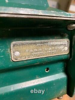Vieille Station D'essence Texaco Farrington Carte De Crédit À Diapositives Actionnée À La Main