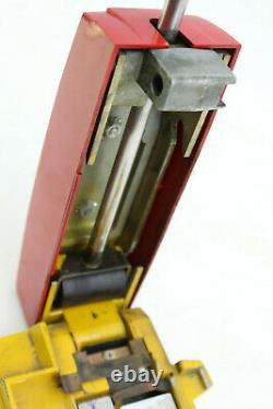 Vintage Farrington Credit Card Machine Shell Gasoline Gas Station Imprint Machin