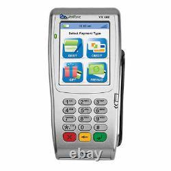 Vx680 Gprs 2g Ctls Wireless Avec Cartesmart(chip)/emv Pour Le Marché International