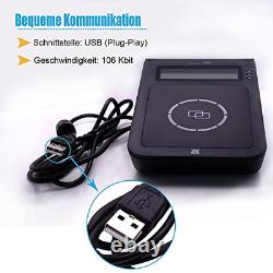 Yiqing E7 Usb Smart Nfc Rfid Reader Writer Support Nfc Contact Et Sans Contact +