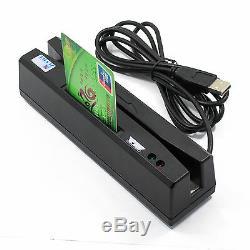 Yl160 4-en-1 Lecteur De Carte Magnétique + Emv / IC Chip / Rfid / Psam Lecteur