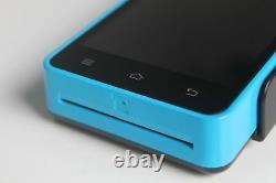 Z90 3-en-1 Lecteur De Cartes Magnétique/ic/nfc Portable Android Pos Terminal+ Sans Sdk